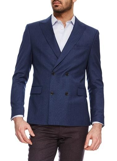 Cacharel Klasik Ceket Mavi